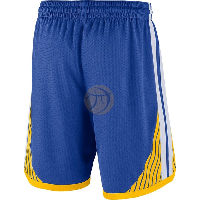 Pantaloni Basket Golden State Warriors Nike Blu