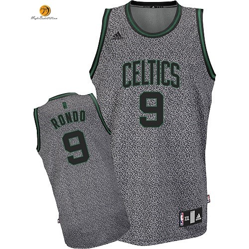 Maglia NBA 2013 Fashion Statico Boston Celtics NO.9 Rondo