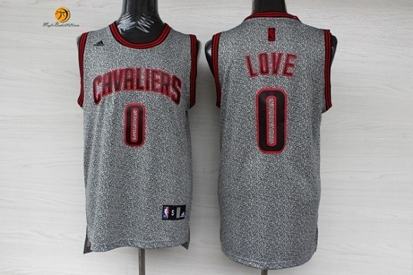 Maglia NBA 2013 Fashion Statico Cleveland Cavaliers NO.0 Love