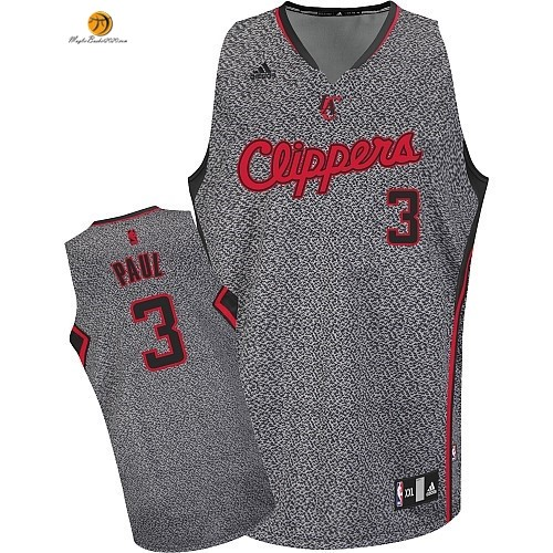 Maglia NBA 2013 Fashion Statico Los Angeles Clippers NO.3 Chris Paul